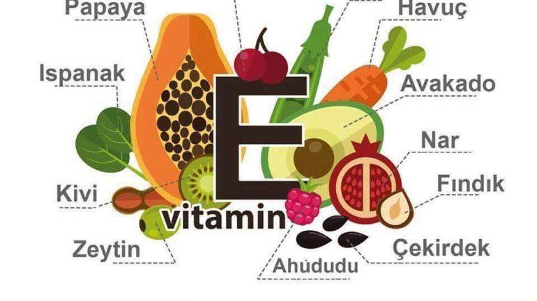 E Vitamini Faydaları