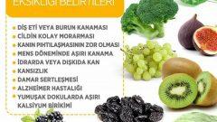 K Vitamini Eksikliği Belirtileri