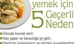 Pırasa Yemek için 5 Geçerli Neden