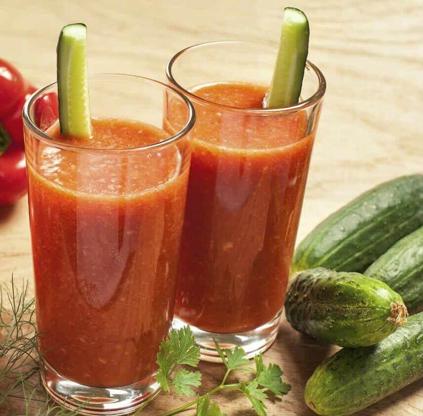 domates ve salatalık