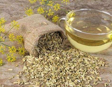 sinirsel gastrit için rezene tohumu çayı