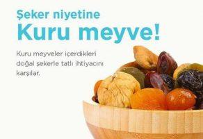 Şeker Niyetine Kuru Meyve