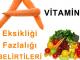 A vitamini fazlalığı nedir belirtileri nelerdir ?