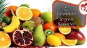 En Çok C Vitamini İçeren Besinler