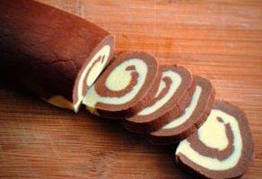 Çikolatalı Meyveli Kek