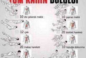 Karın Bölgesi Egzersizleri