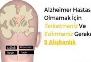 Alzheimer Hastası Olmamak İçin Terketmeniz Ve Edinmeniz Gereken 9 Alışkanlık.