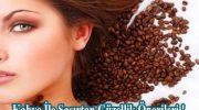 Kahve İle Şaşırtan Güzellik Önerileri !