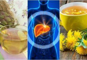 Karaciğer ve kızartılmış YAĞLARI temizleyen 3 içecek