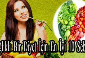 Sağlıklı Bir Diyet İçin En İyi 10 Sebze