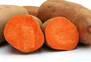 Tatlı patatesin tadı patates ile pancar arası bir tattır