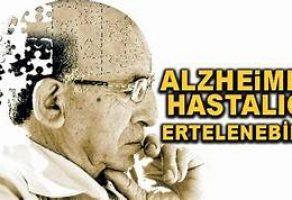 Alzheimer Hastalığı Ertelenebilir