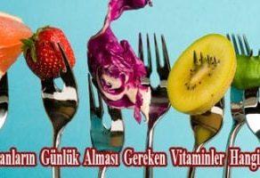 Bayanların Günlük Alması Gereken Vitaminler Hangileri!
