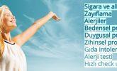 Bağımlılıklar, Zayıflama, Alerji, Ağrı, Duygusal, Bedensel ve Zihinsel Terapiler
